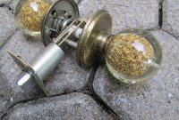 1960s Weiser Bathroom Door Knob Set Acrylic Balls With Gold Flakes within proportions 1500 X 1125