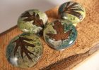 4 Leaf Ceramic Cabinet Knobs Or Drawer Pulls Cabinet Hardware In throughout dimensions 1500 X 1125