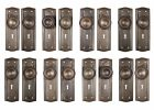 Antique Arts Crafts Door Hardware Sets Early 1900s inside proportions 4016 X 4016