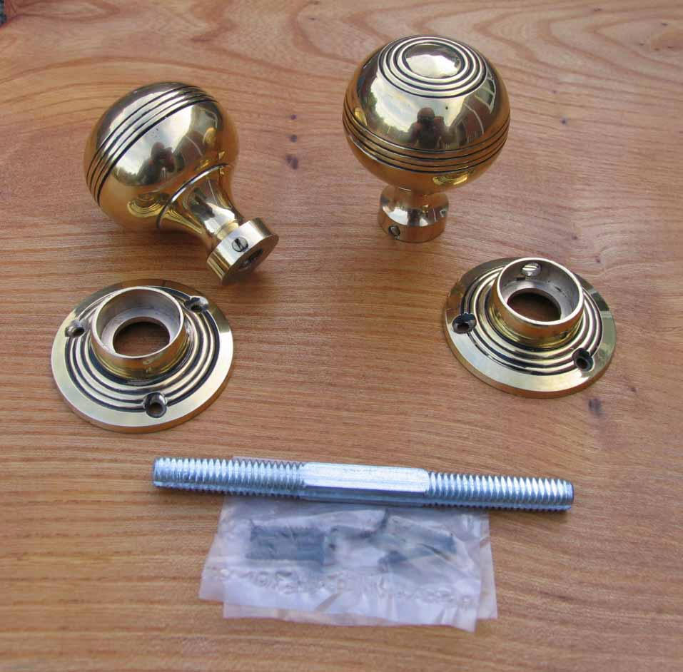 Antique Reproduction Solid Brass Door Knobs Inside Proportions 957 X 942