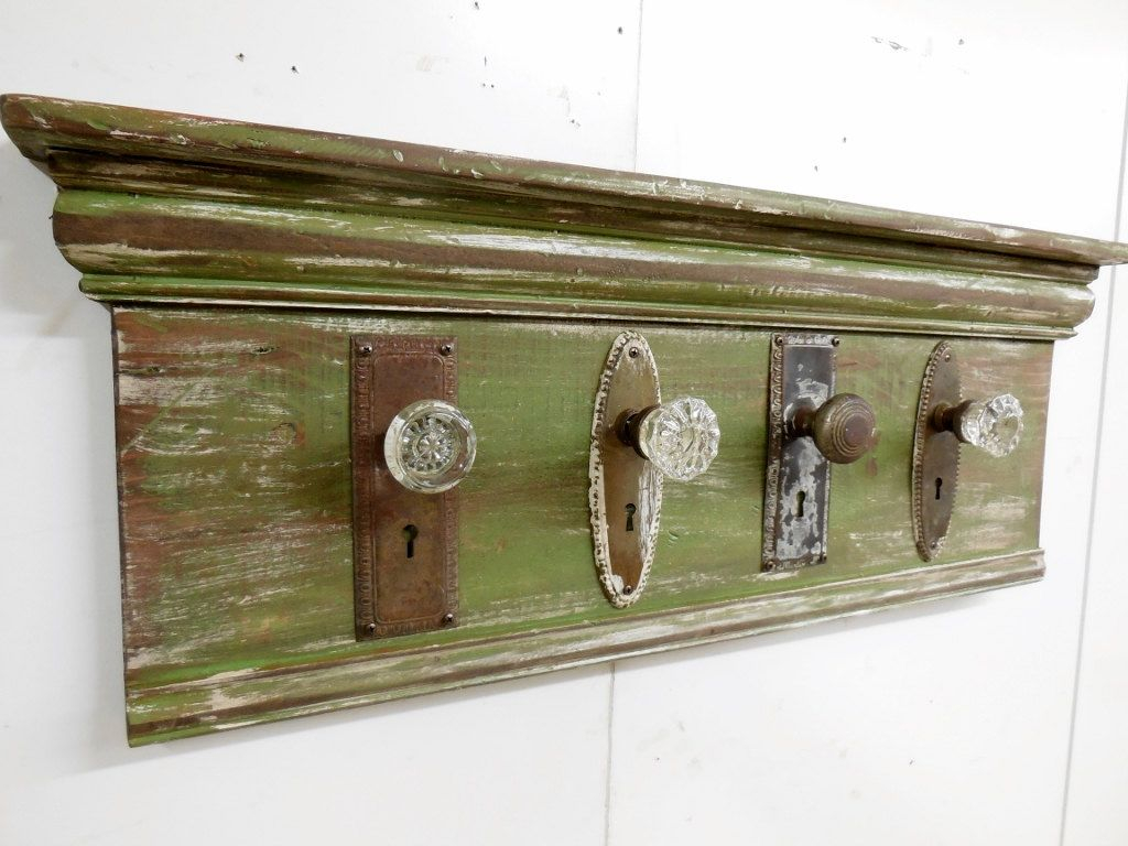 Merveilleux Architectural Salvage Coat Rack Rustic Coat Rack Antique Glass For  Proportions 1024 X 768