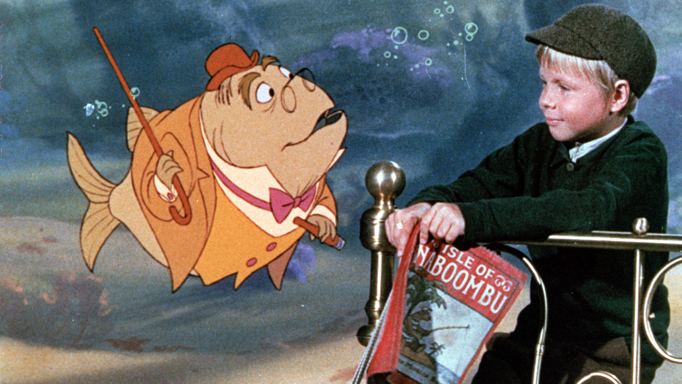 Bedknobs And Broomsticks 1971 with sizing 1330 X 748