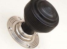 Black Door Handles Wooden Door Knobs Ebonised Ebony Door Knobs regarding size 1000 X 1000