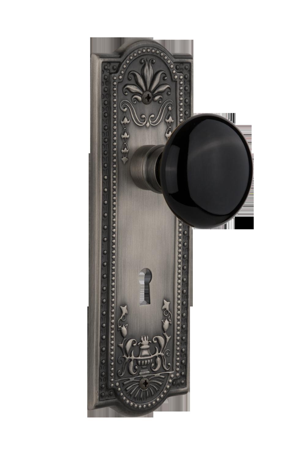 Black Porcelain Knob Nostalgic Warehouse Regarding Proportions 1000 X 1490