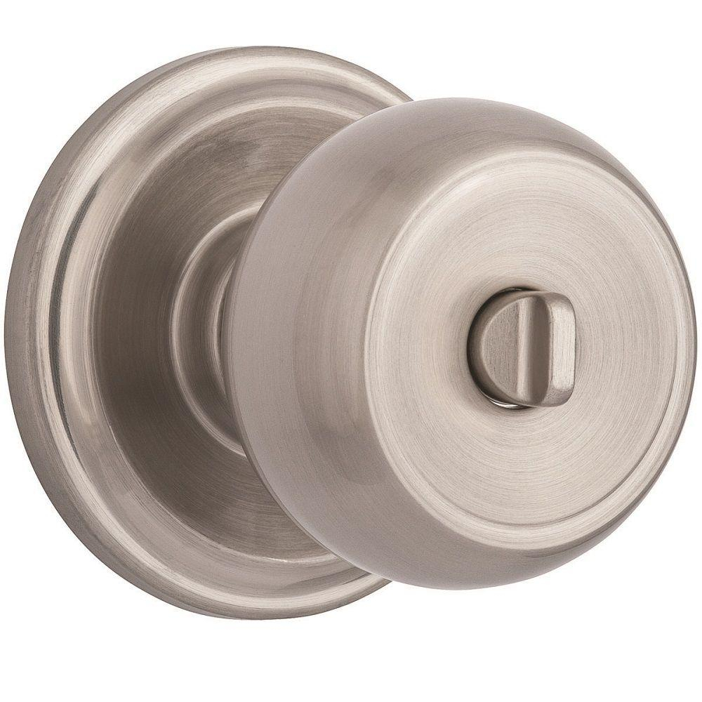 Brinks Stafford Satin Nickel Turn Lock Privacy Bedbath Push Pull intended for dimensions 1000 X 1000