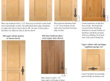 Cabinet Door Hardware Placement Guidelines Taylorcraft Cabinet intended for sizing 2337 X 3037
