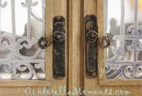 Cinderella Moments Easy Dollhouse Miniature Door Knob Lever within sizing 1052 X 1600