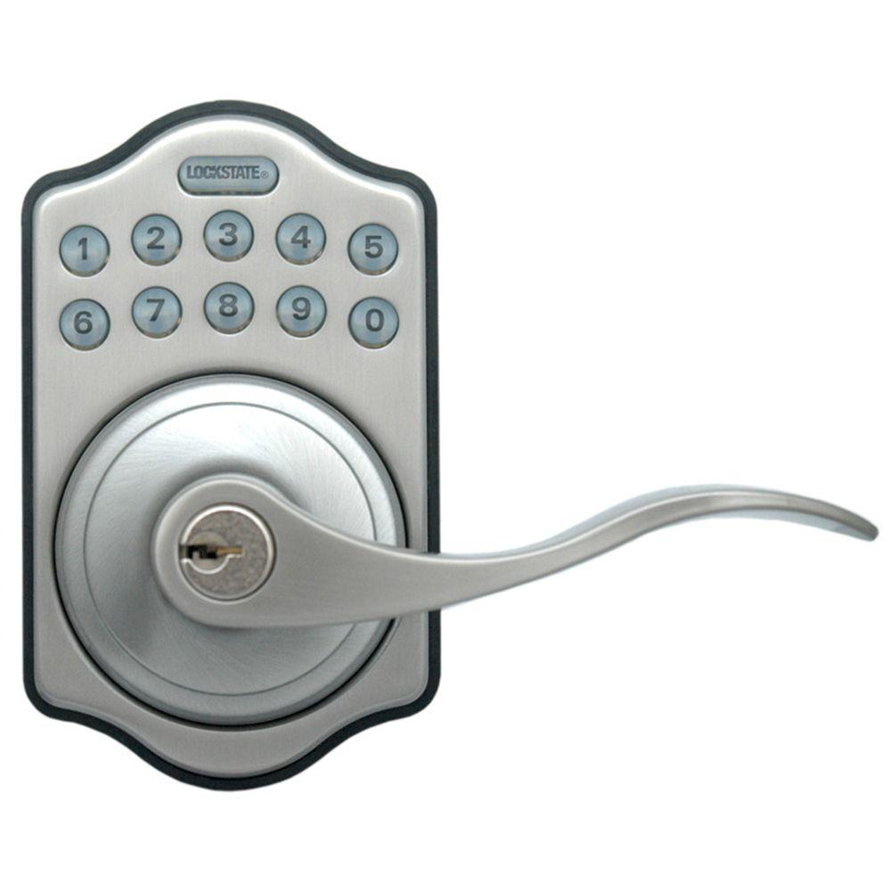 Gentil Lockstate Electronic Keypad Door Lever Door Lock Ls L500 Sn The With Size  1000 X 1000