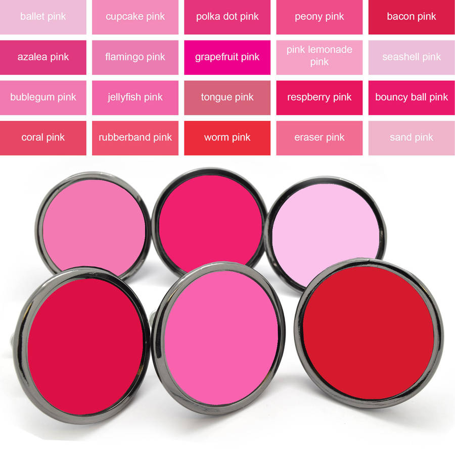 Pink Colourful Cabinet Drawer Door Knobs Pushka Home in dimensions 900 X 900