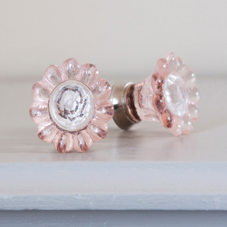 Pink Flower Drawer Knobs Floral Drawer Knobs Pompom Twiddle with size 900 X 900
