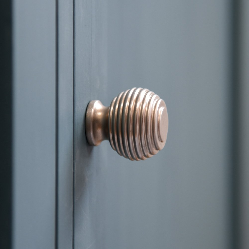 Queen Anne Beehive Cabinet Knob Satin Nickel inside size 1000 X 1000