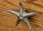 Solid Brass Starfish Cabinet Knob Hardware throughout size 1500 X 1500