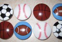 Sports Balls 1 12 Knobs Football Basketball Baseball regarding measurements 1500 X 803