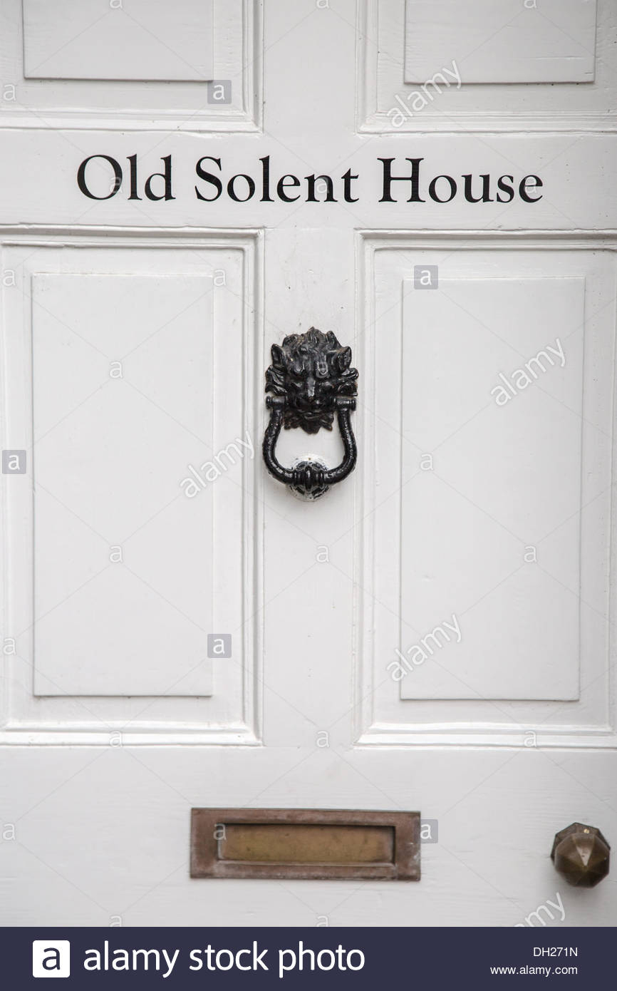 White Front Door Detail Of Traditional English House With Black in proportions 866 X 1390