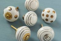 White Gold Silver Ceramic Cupboard Door Knobs Pushka Home inside measurements 900 X 900
