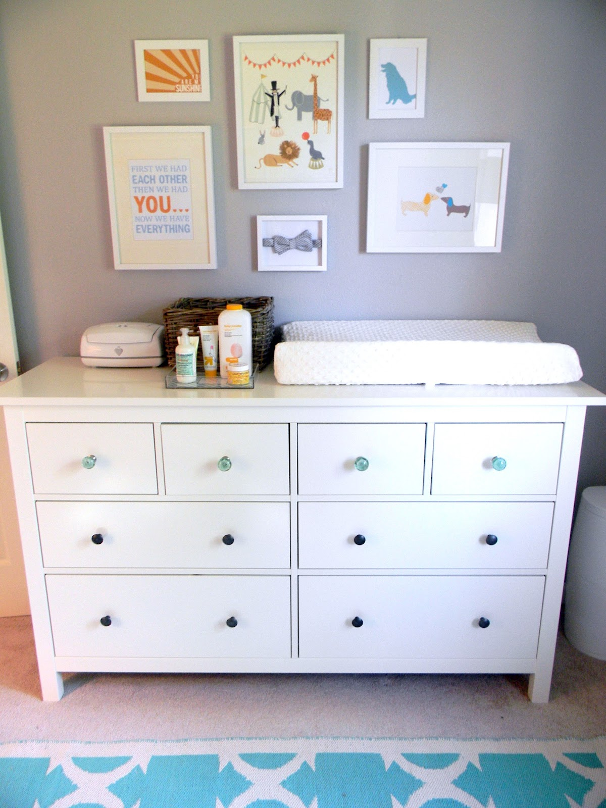 White Wooden Dresser Changing Table For Nursery With Hutch And Regard To Proportions 1200 X