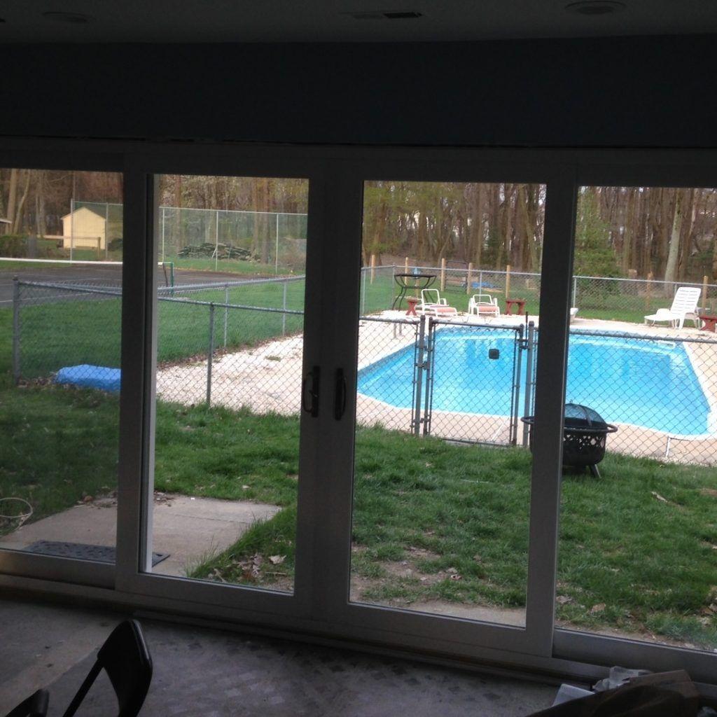 12 Foot High Sliding Glass Door Backyard with size 1024 X 1024