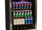 148 Can Glass Door Refrigerator Stainless Steel Beverage Cooler with proportions 1000 X 1000