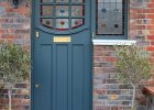 1930s Stained Glass Front Door London Door Company for sizing 2350 X 2953