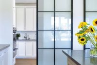 Ak Metal Barn Doors With Glass Inserts Straus Job Details Doors regarding sizing 1114 X 1080