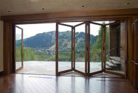 Amazing View Photos Accordion Glass Doors On The Page Posted A inside sizing 1600 X 1067
