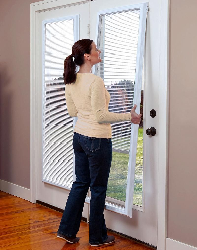 Blinds Between Glass Door Inserts Off Grid Homesliving Doors in measurements 800 X 1014