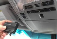 Connect Your Toyota To A Garage Door Opener Using The Homelink inside sizing 1280 X 720