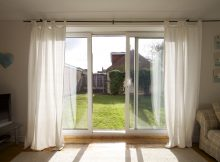 Curtain Amazing Curtains For Sliding Doors Decorating Divas With for dimensions 1181 X 787