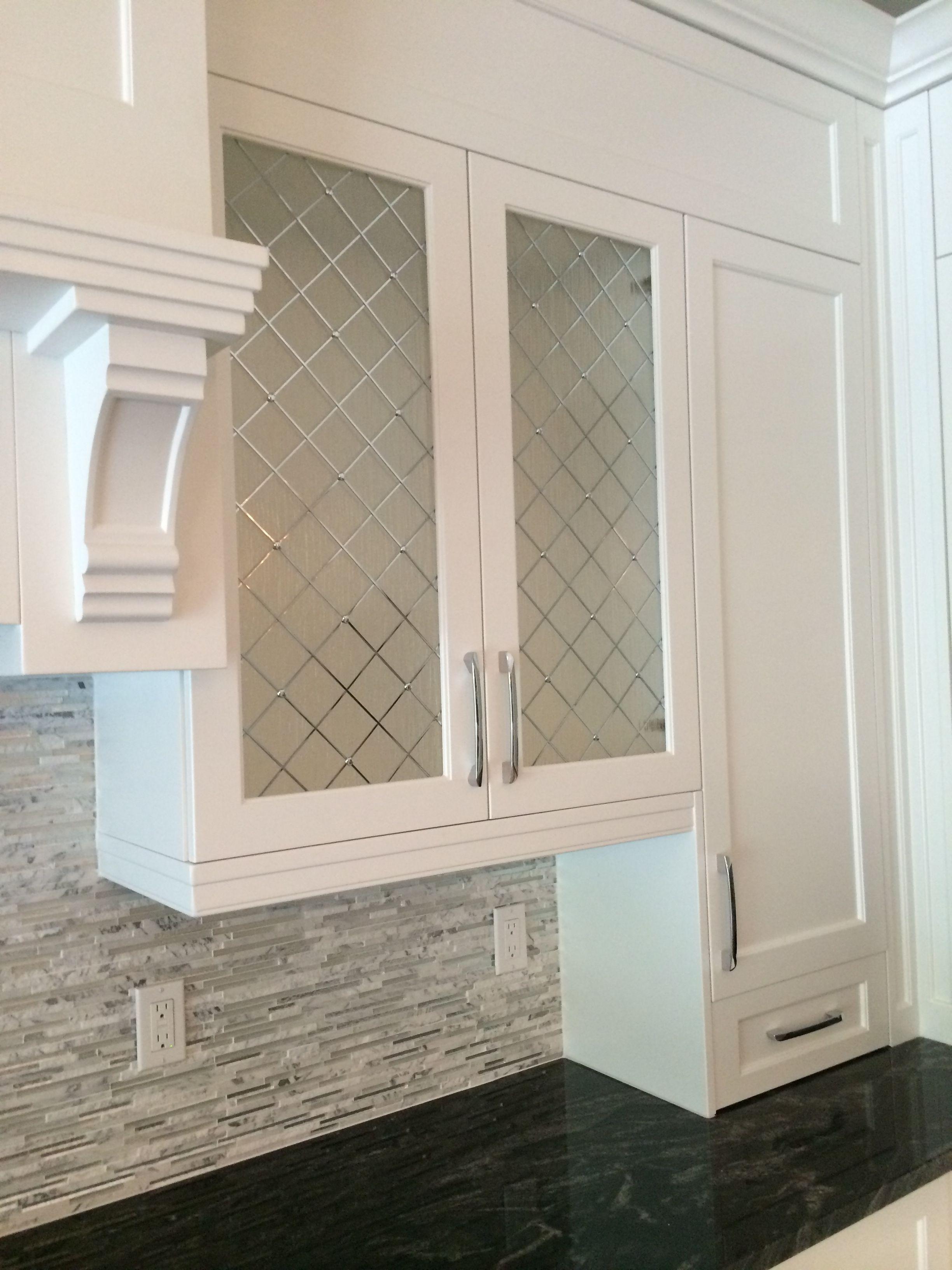 Decorative Cabinet Glass Patterend Glass Kitchen Cabinet Doors regarding dimensions 2448 X 3264