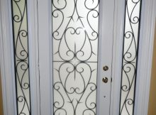 Decorative Glass Inserts For Doors Wrought Iron Decorative regarding proportions 1536 X 2048