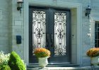 Door Steel Entry Custom Wrought Iron Rome Glass Yates Renovations pertaining to size 1400 X 1000