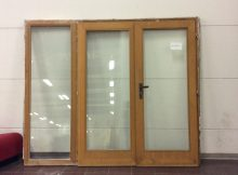 Double Glass Door With Fixed Panel Rotor Deconstruction pertaining to sizing 1936 X 1936
