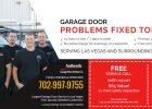 Garage Door Repair Replacement Services In Las Vegas within proportions 1600 X 660