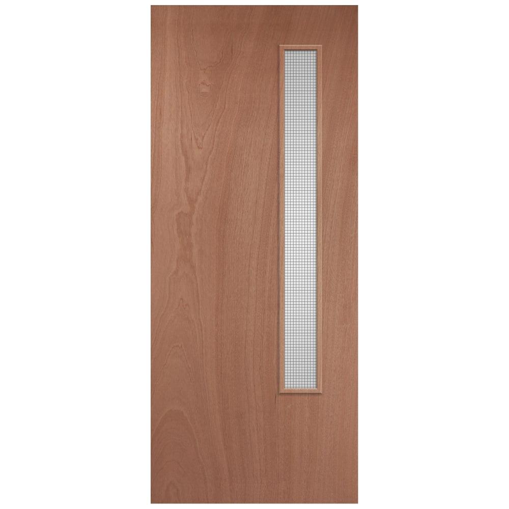 Jeld Wen Internal Plywood Pre Finished Gw06 Glazed Door Leader Doors throughout size 1000 X 1000