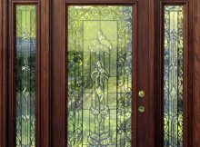 Mahogany Exterior Doors With Sidelights And Transoms 68 Front Door in size 879 X 1192