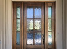 Mahogany Front Door With Privacy Glass See More Pictures On inside size 3024 X 4032