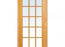 Mmi Door 30 In X 80 In Left Hand Unfinished Pine Glass 15 Lite regarding sizing 1000 X 1000