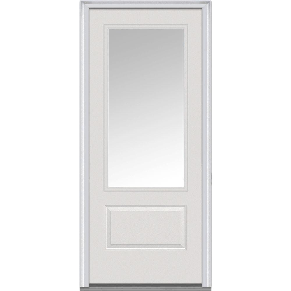 Mmi Door 36 In X 80 In Left Hand Inswing 34 Lite Clear 1 Panel intended for sizing 1000 X 1000