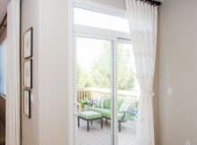 Off White Sliding Glass Door Curtain Shade In 2019 Curtain Design inside proportions 2400 X 3600