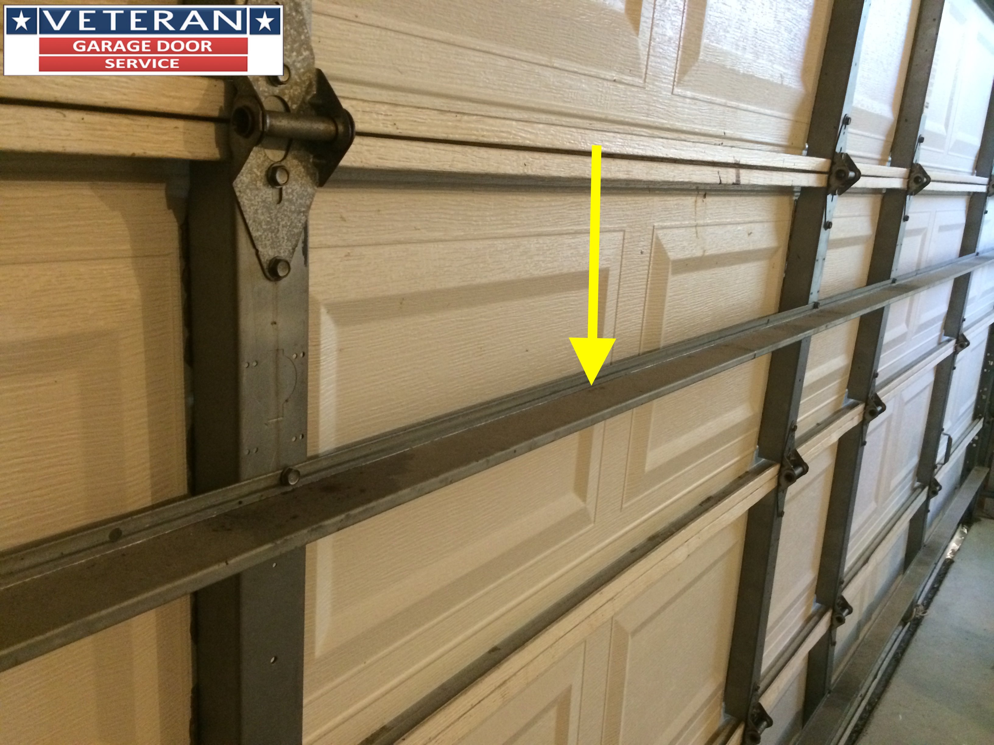 Should I Install A Strut Or Replace My Garage Door Section intended for size 3264 X 2448
