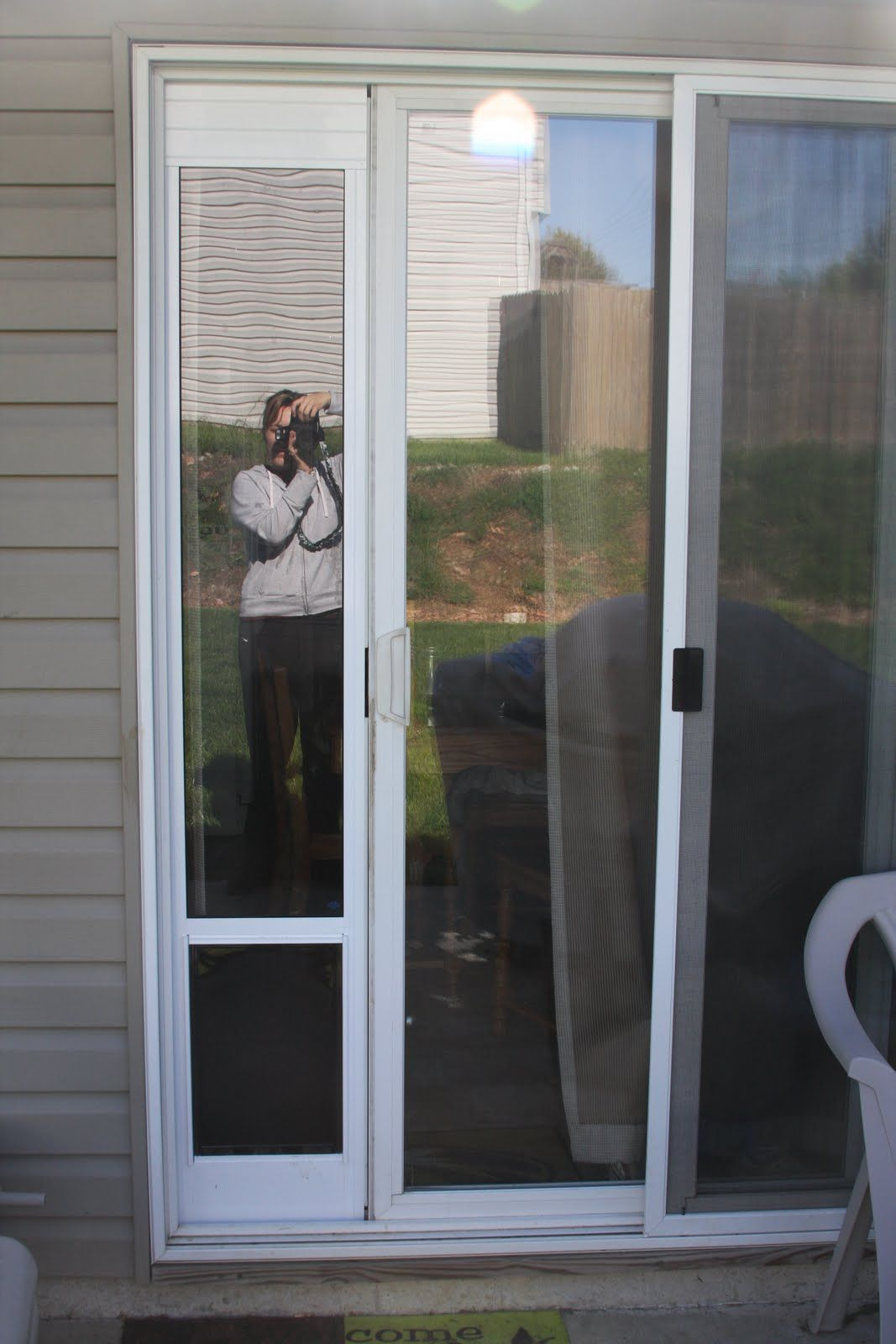 Sliding Glass Doggie Door Insert Must Have Charlies Pets pertaining to sizing 1067 X 1600