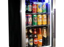 Tropical Glass Door Beer Fridge Compact Bar Fridge 68 Litre With throughout proportions 1080 X 1080