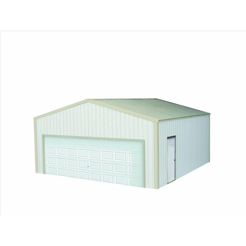 Versatube 12 Ft X 20 Ft X 10 Ft Garage Vs0122010519ws The Home in proportions 1000 X 1000