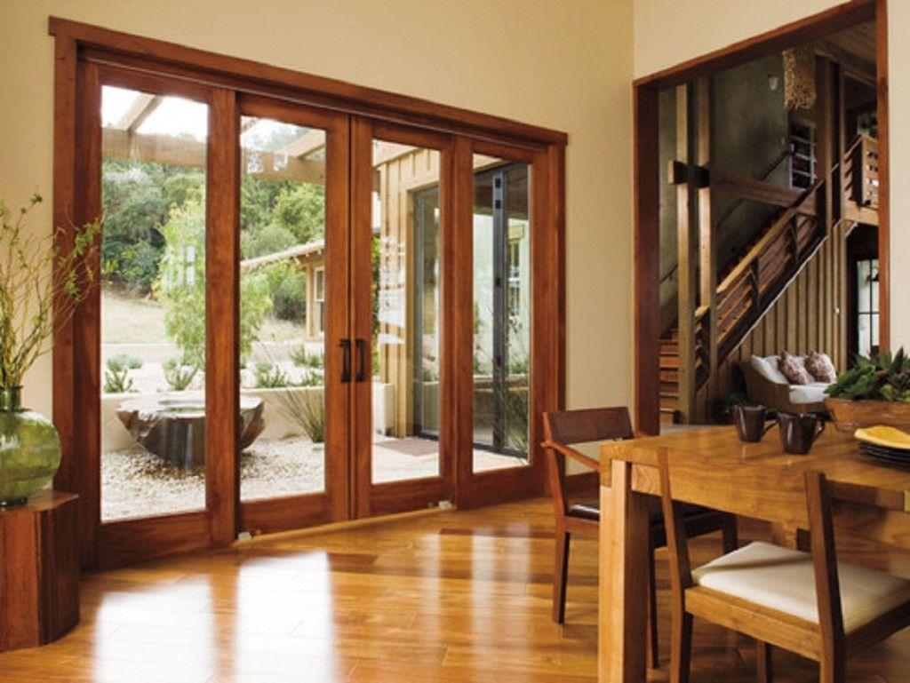 Wooden Frame Sliding Glass Doors Sliding Doors Ideas Gracia pertaining to proportions 1024 X 769