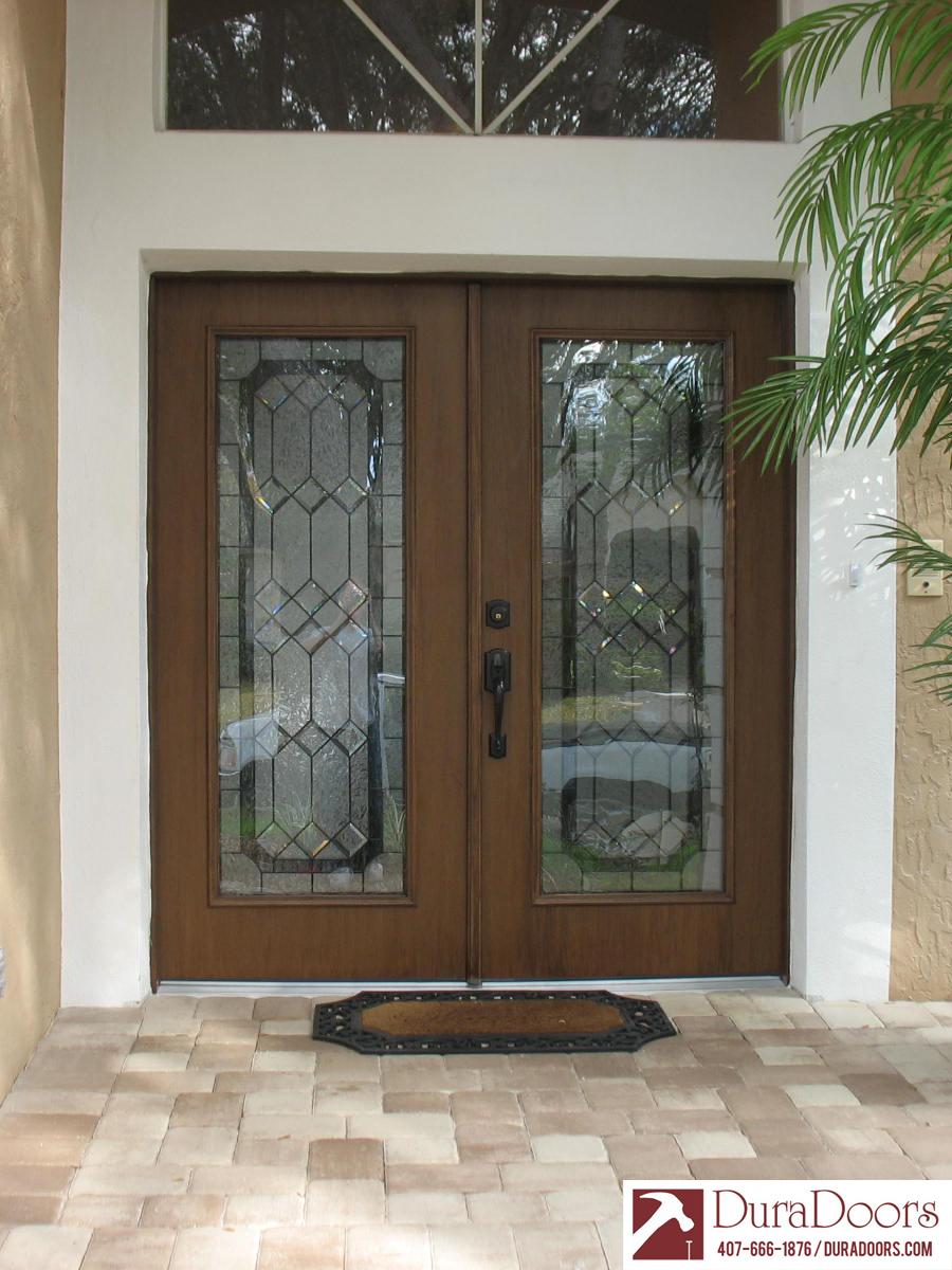Woodgrain Plastpro Doors With Odl Majestic Glass Duradoors with proportions 900 X 1200
