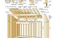14 X 24 Shed Plans Free Sheds Blueprints 7 Steps To Building Your throughout sizing 908 X 1032