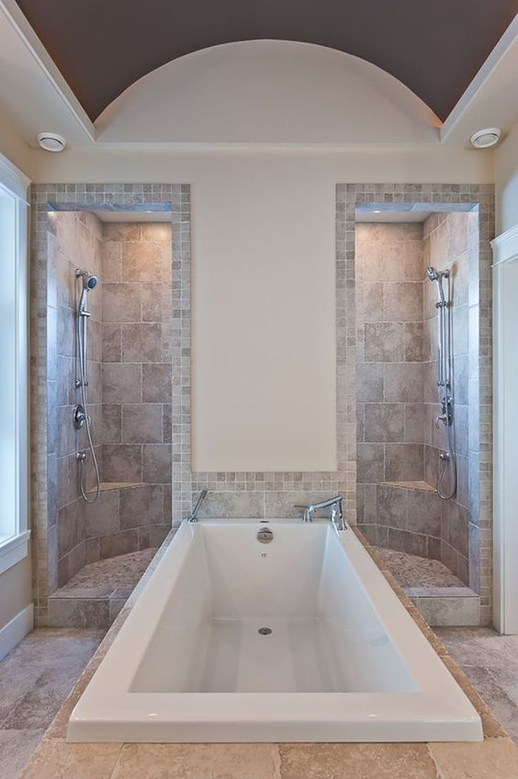 19 Gorgeous Showers Without Doors Bath Bathroom Dream Bathrooms in measurements 735 X 1105