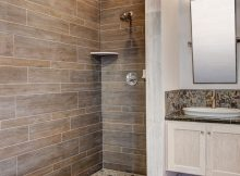 20 Amazing Bathrooms With Wood Like Tile in size 736 X 1104
