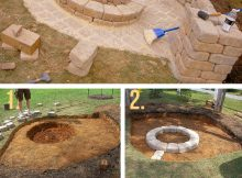 27 Best Diy Firepit Ideas And Designs For 2019 regarding size 800 X 1231