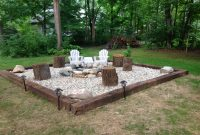 30 Best Backyard Fire Pit Area Inspirations For Your Cozy And Rustic for proportions 3166 X 2375